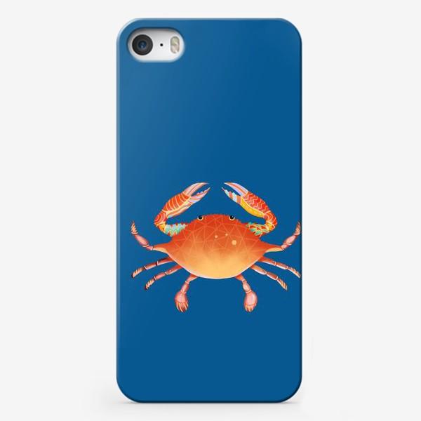 Чехол iPhone «Рак. Подарок для рака»