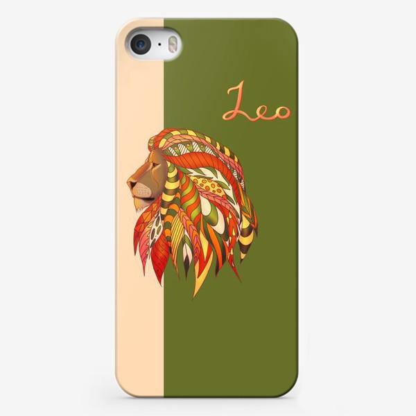 Чехол iPhone «Лев»