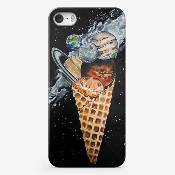 Чехол iPhone «Холодный космос»