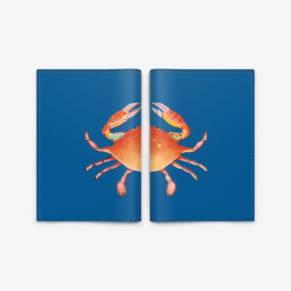 Обложка для паспорта «Рак. Подарок для рака»