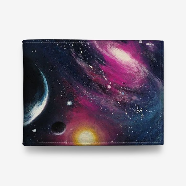 Кошелек «космос»