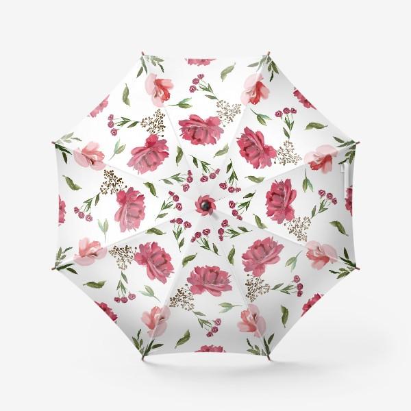 Зонт «Цветочный паттерн»