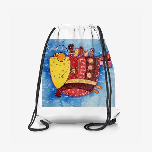 Рюкзак «Добрая рыба»