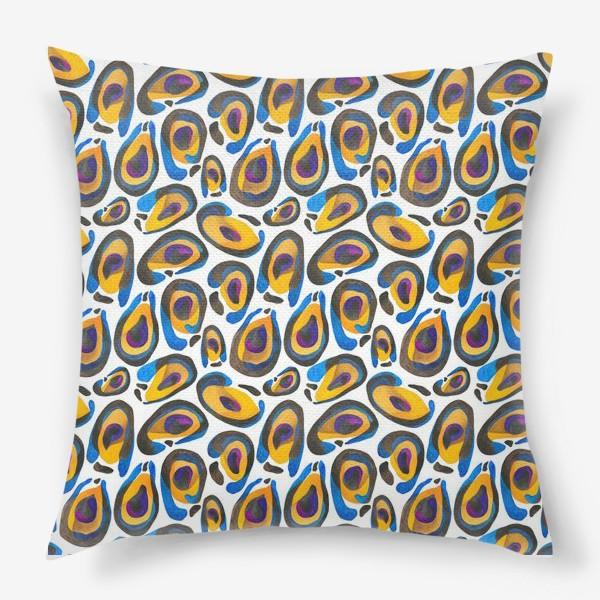 Подушка «Шкура экзотического животного»