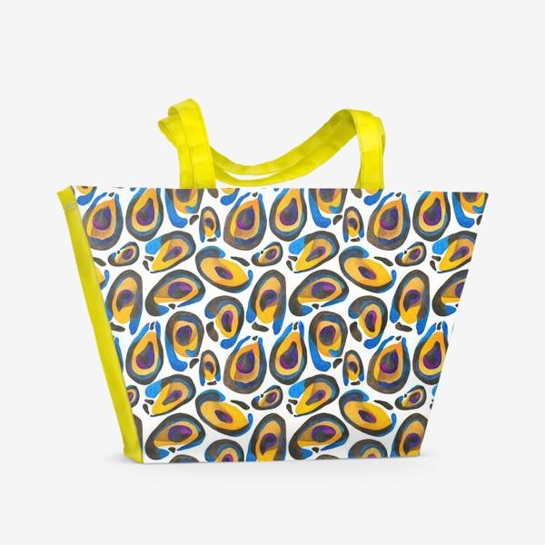 Пляжная сумка «Шкура экзотического животного»