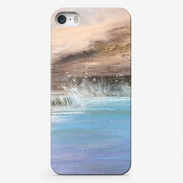 Чехол iPhone «морской пейзаж пастель»