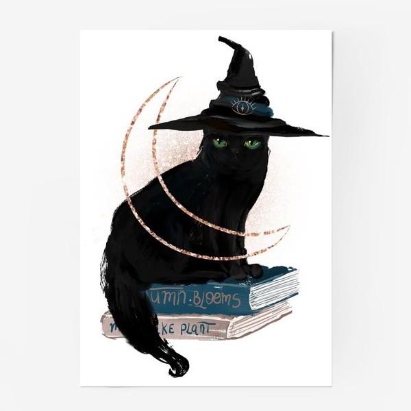 Постер «Черная кошка»