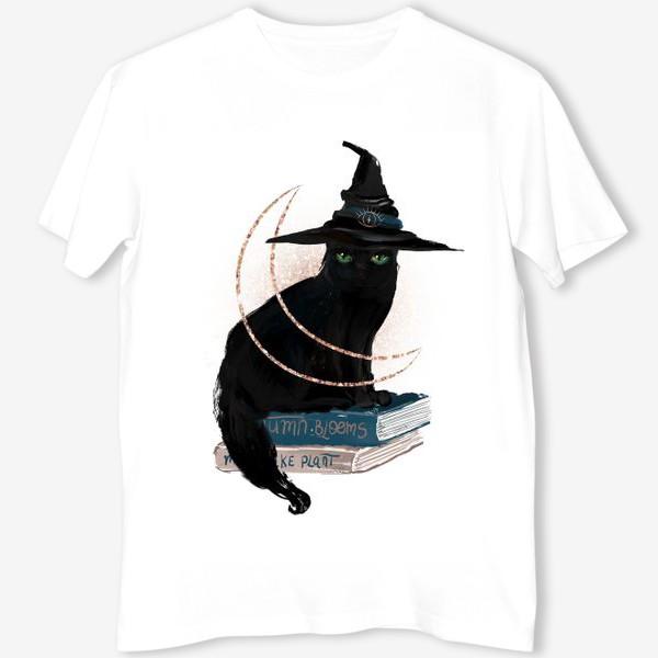 Футболка «Черная кошка»