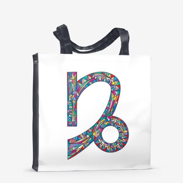 Сумка-шоппер «Знак зодиака КОЗЕРОГ»