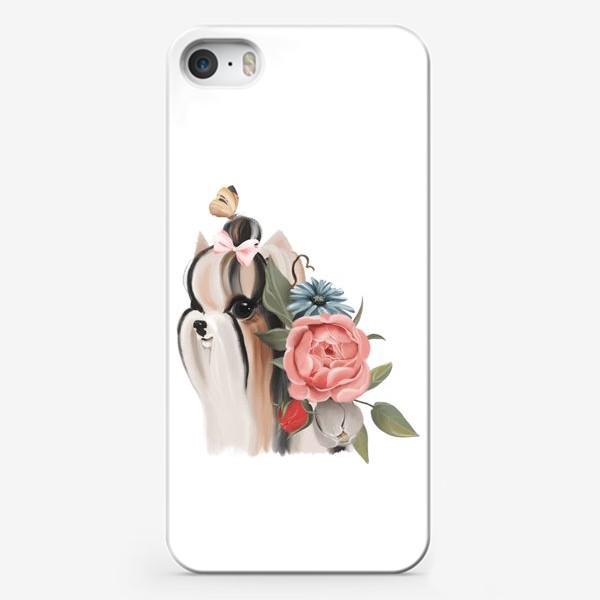 Чехол iPhone «Йоркширский терьер»