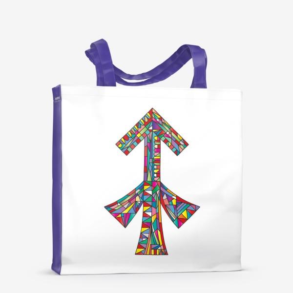 Сумка-шоппер «Знак зодиака СТРЕЛЕЦ»
