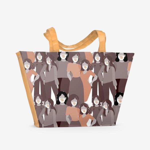 Пляжная сумка «вирус»