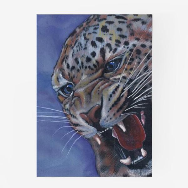 Постер «Леопард »