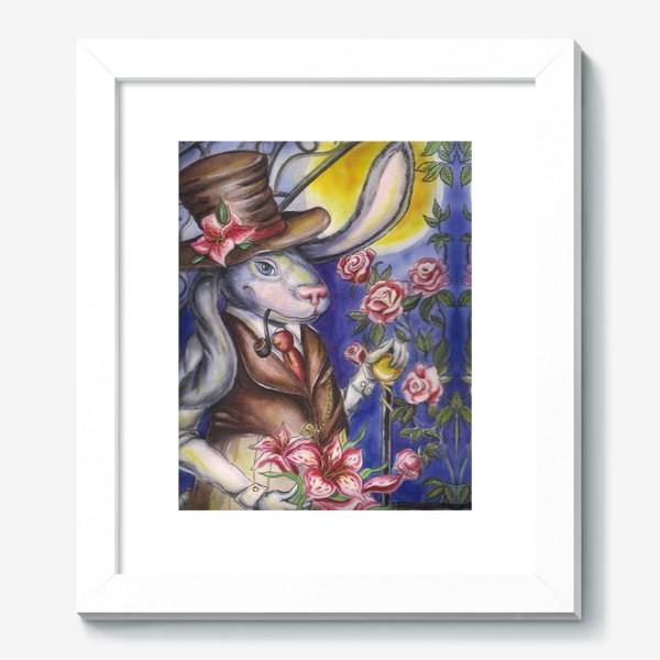 Картина «Кролик страны Чудес »