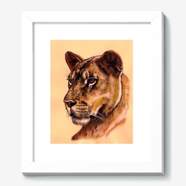 Картина «Львица »