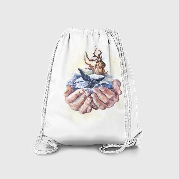 Рюкзак «Потребляй ответственно»