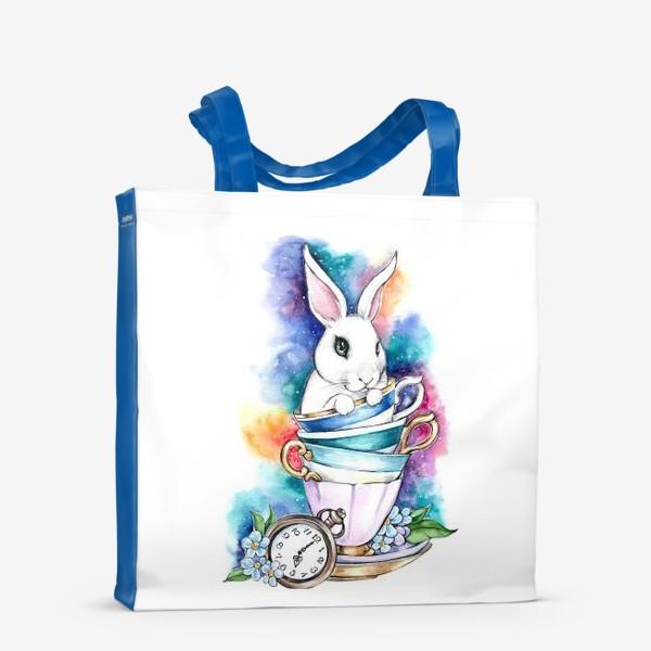 Сумка-шоппер «Белый кролик Алисы»