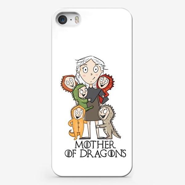 Чехол iPhone «Мать 5 драконов»