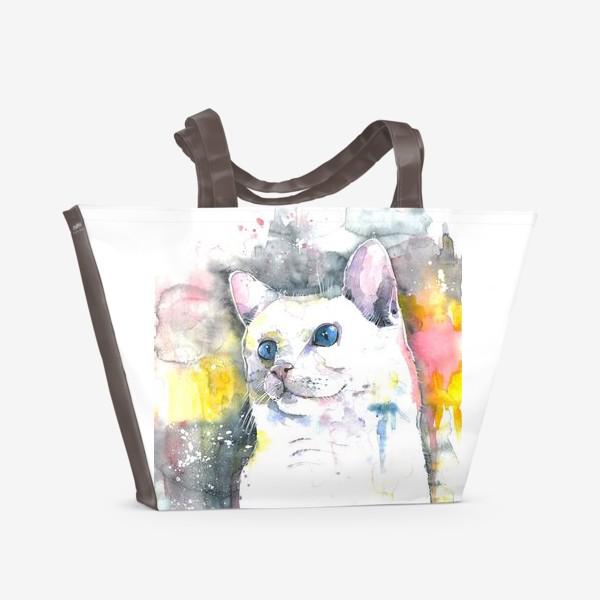 Пляжная сумка «Кот »
