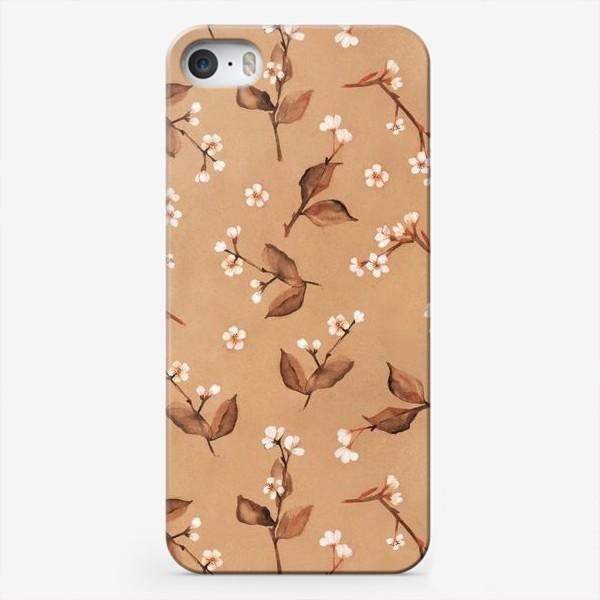 Чехол iPhone «Цветущие ветки вишни»