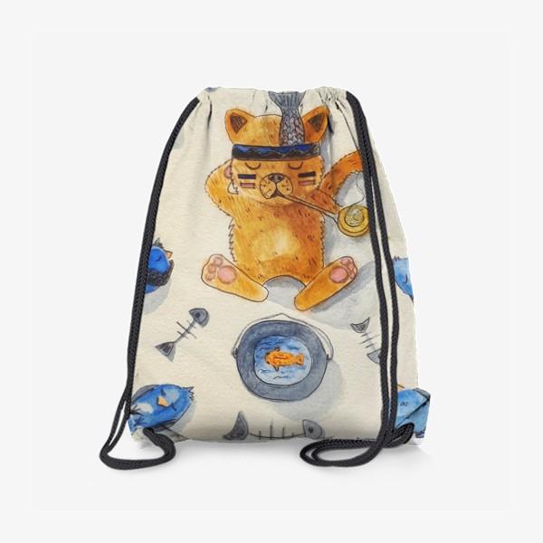 Рюкзак «Кот-индеец»