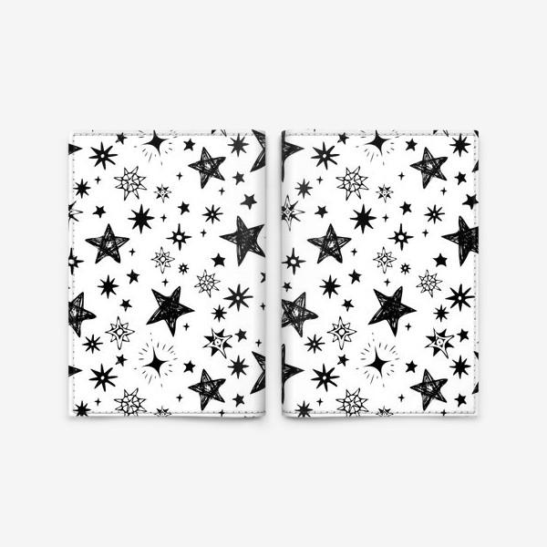 Обложка для паспорта «Волшебные звезды»