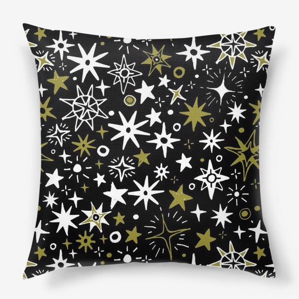 Подушка «Звездный хаос»