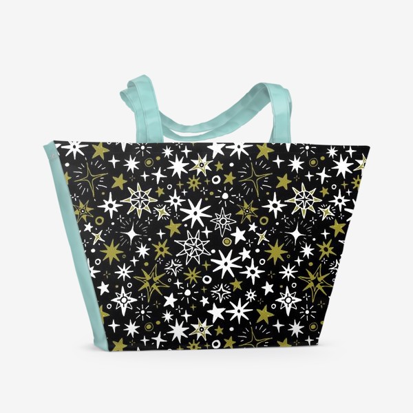 Пляжная сумка «Звездный хаос»
