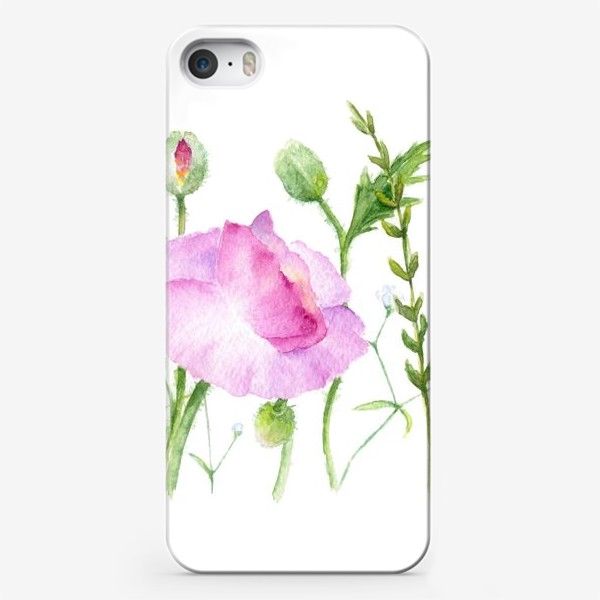 Чехол iPhone «Летние цветы»
