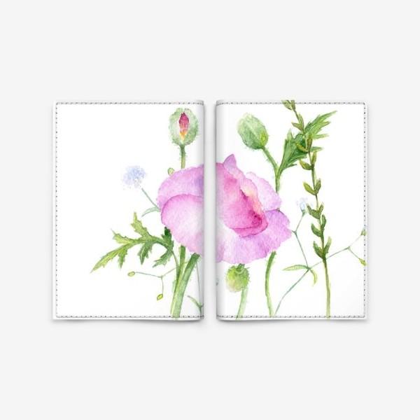 Обложка для паспорта «Летние цветы»