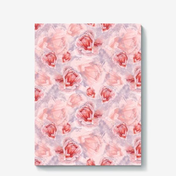 Холст «Розовая романтика»