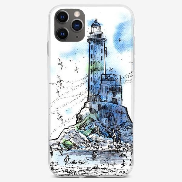 Чехол iPhone «Маяк Анива»