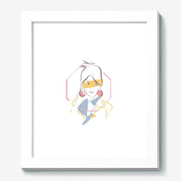 Картина «Силуэты. Линии. Лица.»