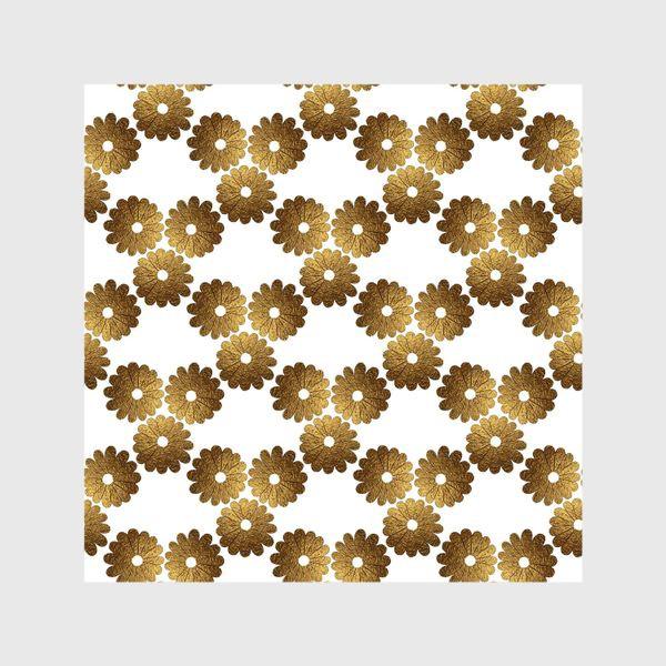 Шторы «Золотые цветы»