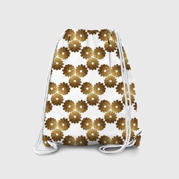 Рюкзак «Золотые цветы»