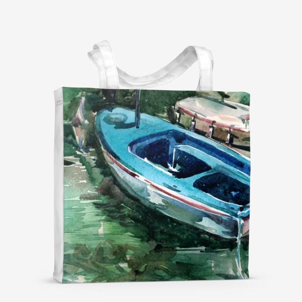 Сумка-шоппер «Голубая лодка»