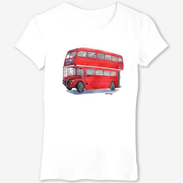 Футболка «Лондонский автобус»
