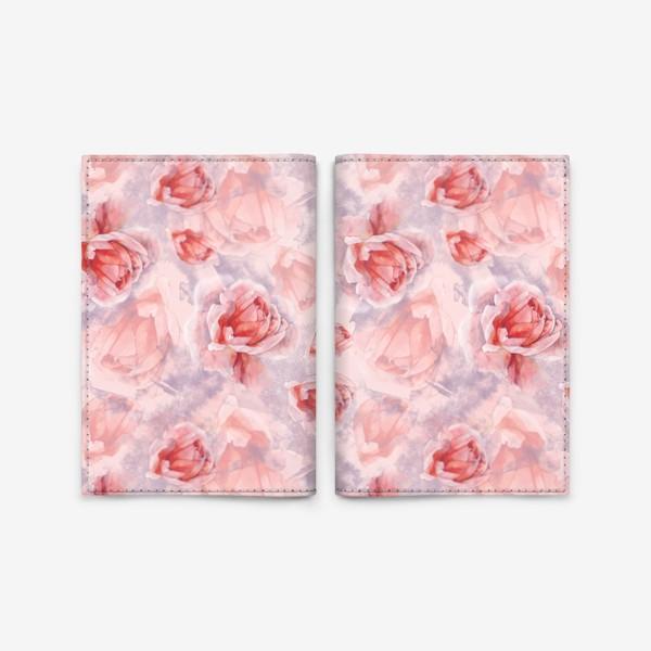 Обложка для паспорта «Розовая романтика»