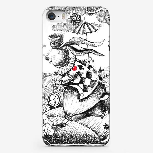 Чехол iPhone «Мартовский кролик»