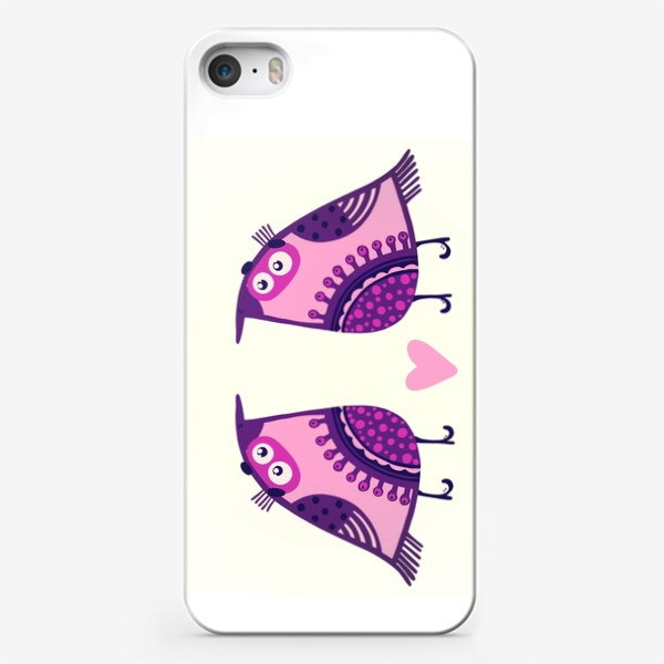 Чехол iPhone «Мои птички 2»