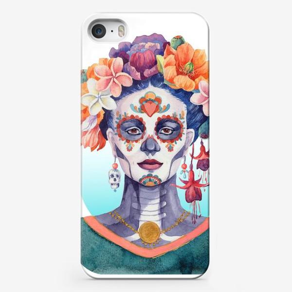 Чехол iPhone «Мексика. Катрина»
