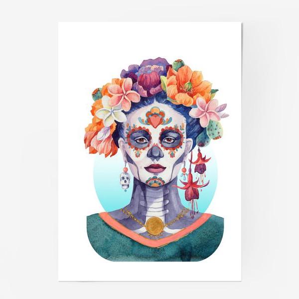 Постер «Мексика. Катрина»