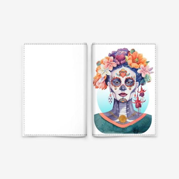 Обложка для паспорта «Мексика. Катрина»