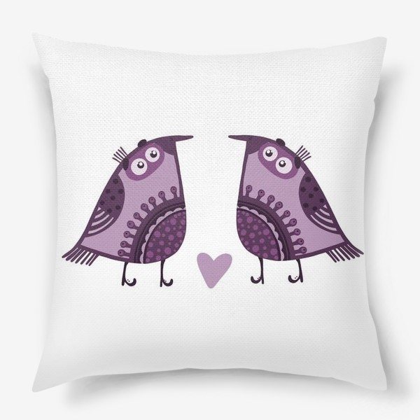 Подушка «Мои птички 4»