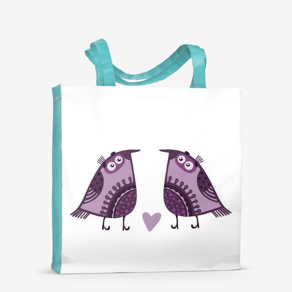 Сумка-шоппер «Мои птички 4»