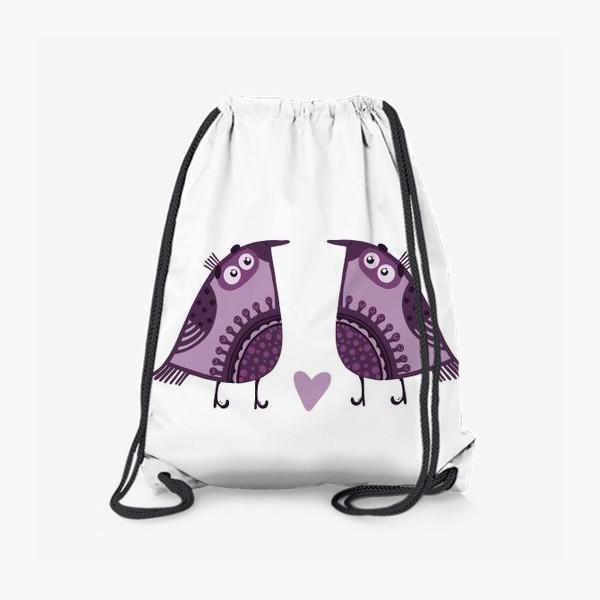 Рюкзак «Мои птички 4»