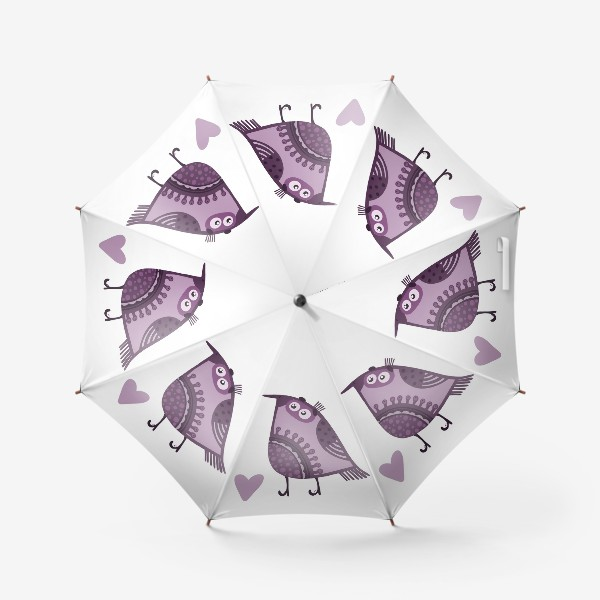 Зонт «Мои птички 4»