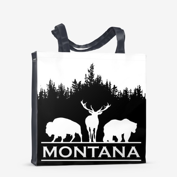 Сумка-шоппер «Символ Монтаны»