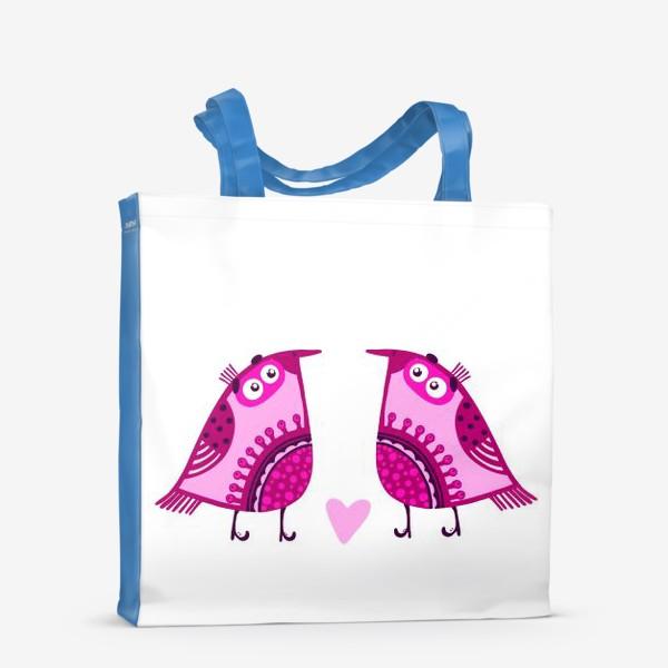Сумка-шоппер «Мои птички 3»