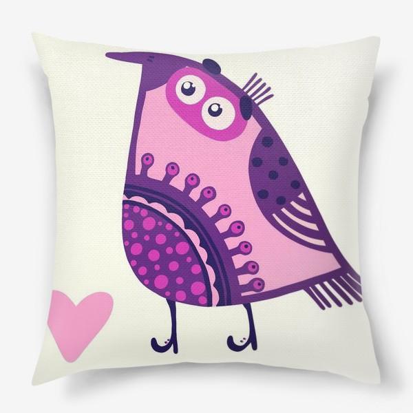Подушка «Мои птички 2»